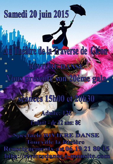 Affiche spectacle 2015